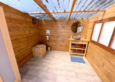 Toilettes terrasse pléiade